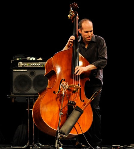 Chris Jennings Custom left handed double bass