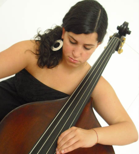 Luzia Viera Concert 3/4 model double bass