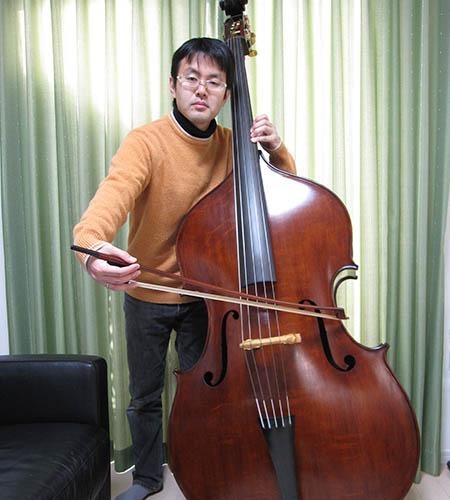 Masataka Terayama Martin Ruggeri 5 String Bass